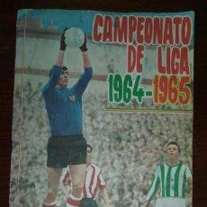 Álbum de fútbol completo: ALBUM COMPLETO LIGA ESPAÑA FHER DISGRA TEMPORADA 1964/1965 64/65. Lote 99893875