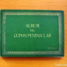 Álbum de fútbol completo: ÁLBUM DEL CUPÓN PENINSULAR, TOMO I - CUPÓN PENINSULAR 1932 - COMPLETO . Lote 100153487