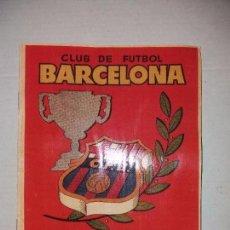 Álbum de fútbol completo: CLUB DE FUTBOL BARCELONA - CAMPEONES DE LIGA 1952 1953 - FACSIMIL DEL ALBUM. Lote 100183935