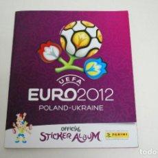 Álbum de fútbol completo: ALBUM EURO 2012 PANINI COMPLETO POLONIA UCRANIA - POLAND UKRAINE . Lote 101098907