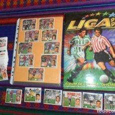 Álbum de fútbol completo: ESTE LIGA 97 98 1997 1998 COMPLETO CON MUCHO DOBLE. REGALO 95 CROMO SIN PEGAR CON COLOCA Y FICHAJE.. Lote 101128931