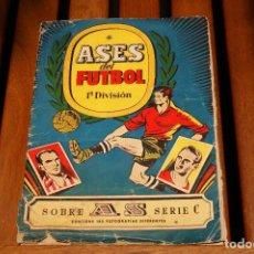Álbum de fútbol completo: ALBÚM COMPLETO TEMPORADA 1944-1945 LIGA ESPAÑOLA ASES DEL FUTBOL 1ª DIVISIÓN. Lote 101131551