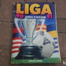 Álbum de fútbol completo: COMPLETO ALBUM DE FUTBOL LIGA 90 91 1990 1991 EDICIONES ESTE CROMO CROMOS. Lote 101156975