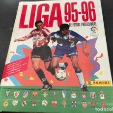 Álbum de fútbol completo: LIGA 95 - 96. ALBUM COMPLETO . PANINI (H-1). Lote 101232915