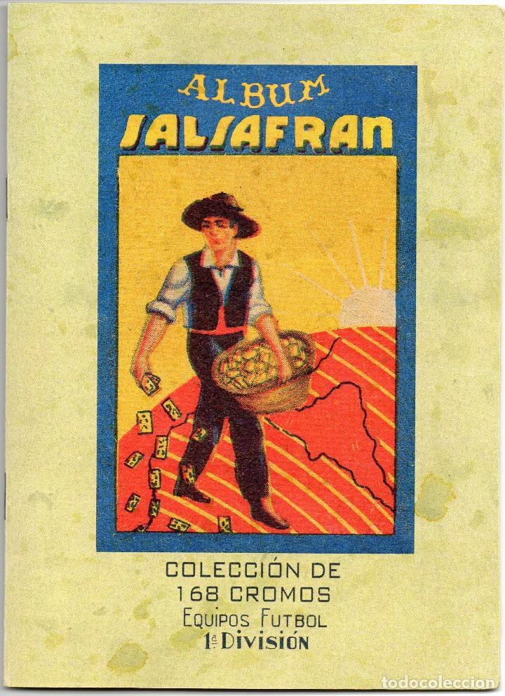 ALBUM AZAFRAN SALSAFRAN, TEMPORADA 1944-45 NOVELDA ALICANTE (Coleccionismo Deportivo - Álbumes y Cromos de Deportes - Álbumes de Fútbol Completos)