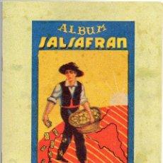Álbum de fútbol completo: ALBUM AZAFRAN SALSAFRAN, TEMPORADA 1944-45 NOVELDA ALICANTE. Lote 101307419
