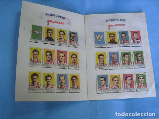 Álbum de fútbol completo: album azafran Salsafran, temporada 1944-45 novelda alicante - Foto 2 - 101307419