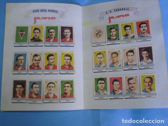 Álbum de fútbol completo: album azafran Salsafran, temporada 1944-45 novelda alicante - Foto 8 - 101307419