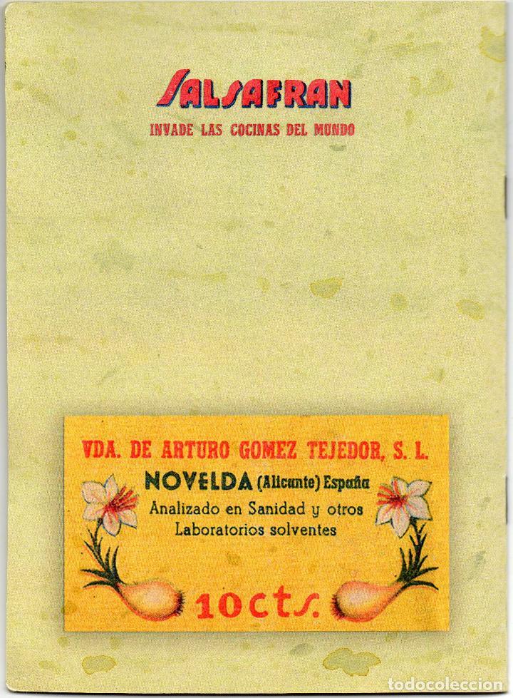 Álbum de fútbol completo: album azafran Salsafran, temporada 1944-45 novelda alicante - Foto 9 - 101307419