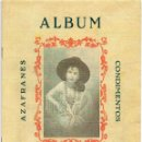 Álbum de fútbol completo: ALBUM CARMENCITA, TEMPORADA 1943-44, NOVELDA ALICANTE. Lote 101362259