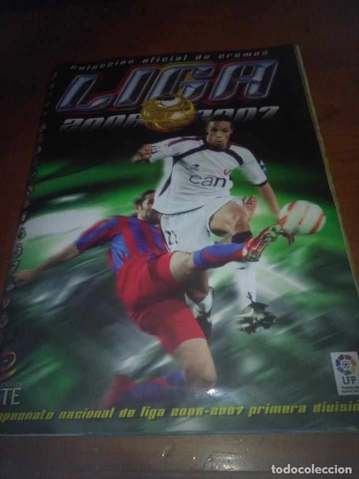 ALBUM DE FUTBOL. LIGA ESTE 2006 2007. . CON ERROR SHUSTER. . SCHUSTER. VER FOTOS. EST1B3 (Coleccionismo Deportivo - Álbumes y Cromos de Deportes - Álbumes de Fútbol Completos)