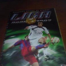 Álbum de fútbol completo: ALBUM DE FUTBOL. LIGA ESTE 2006 2007. . CON ERROR SHUSTER. . SCHUSTER. VER FOTOS. EST1B3. Lote 101366139