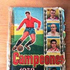 Álbum de fútbol completo: CROMOS CAMPEONES 1958, 57-58 - EDITORIAL BRUGUERA - SUELTOS A 4 EUROS. Lote 120433478