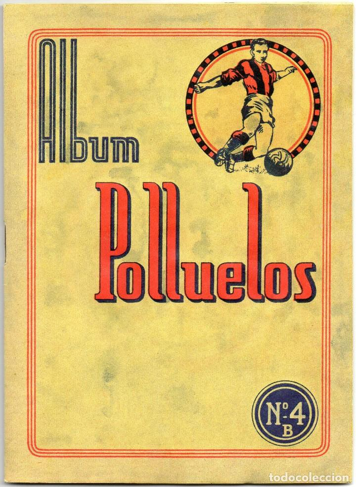 ALBUM AZAFRAN LOS POLLUELOS Nº 4 B, TEMPORADA 1953-44, DE NOVELDA ALICANTE (Coleccionismo Deportivo - Álbumes y Cromos de Deportes - Álbumes de Fútbol Completos)