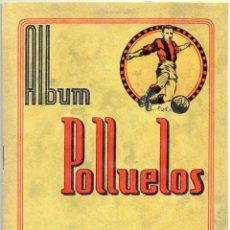 Álbum de fútbol completo: ALBUM AZAFRAN LOS POLLUELOS Nº 4 B, TEMPORADA 1953-44, DE NOVELDA ALICANTE. Lote 101437867