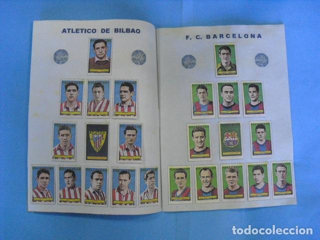 Álbum de fútbol completo: album azafran los polluelos nº 4 B, temporada 1953-44, de novelda alicante - Foto 4 - 101437867