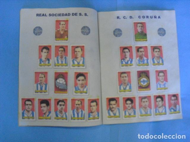 Álbum de fútbol completo: album azafran los polluelos nº 4 B, temporada 1953-44, de novelda alicante - Foto 5 - 101437867