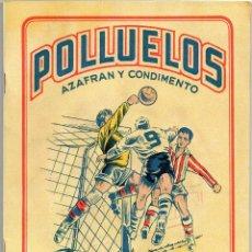 Álbum de fútbol completo: ALBUM POLLUELOS Nº 5, TEMPORADA 1954-55, DE 32 EQUIPOS 16 DE 1º, Y 16 DE 2º, DE NOVELDA ALICANTE. Lote 101546359