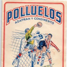 Álbum de fútbol completo: ALBUM POLLUELOS Nº5 , TEMPORADA 1955-56, DE 16 EQUIPOS, DE NOVELDA ALICANTE. Lote 101667719
