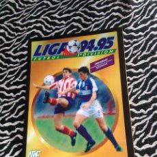 Álbum de fútbol completo: ANTIGUO ÁLBUM LIGA 1994-1995, 94-95 EDICIONES ESTE Y SALVAT (EDICIÓN FACSÍMIL). Lote 102490811