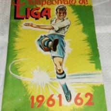 Álbum de fútbol completo: CAMPEONATO DE LIGA 1961- 62 - EDITORIAL FHER - COMPLETO.. Lote 102558819