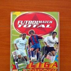 Álbum de fútbol completo: FÚTBOL MATCH TOTAL - LIGA 2002-2003, 02-03 - MAGIC BOX INT. - ÁLBUM FICHERO COMPLETO 426 CROMOS. Lote 102612455