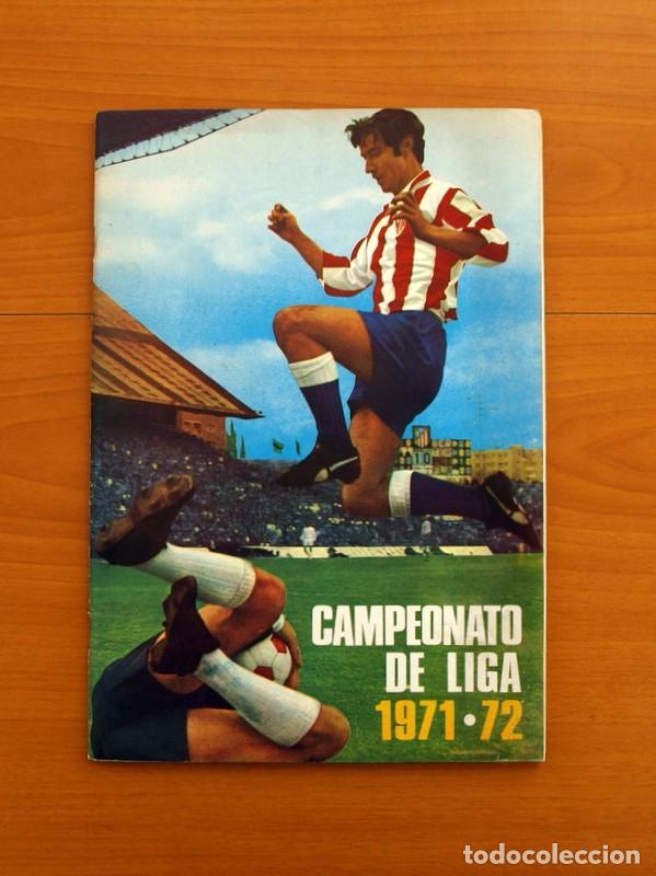 CAMPEONATO DE LIGA 1971-1972, 71-72 - EDITORIAL FHER - COMPLETO (Coleccionismo Deportivo - Álbumes y Cromos de Deportes - Álbumes de Fútbol Completos)
