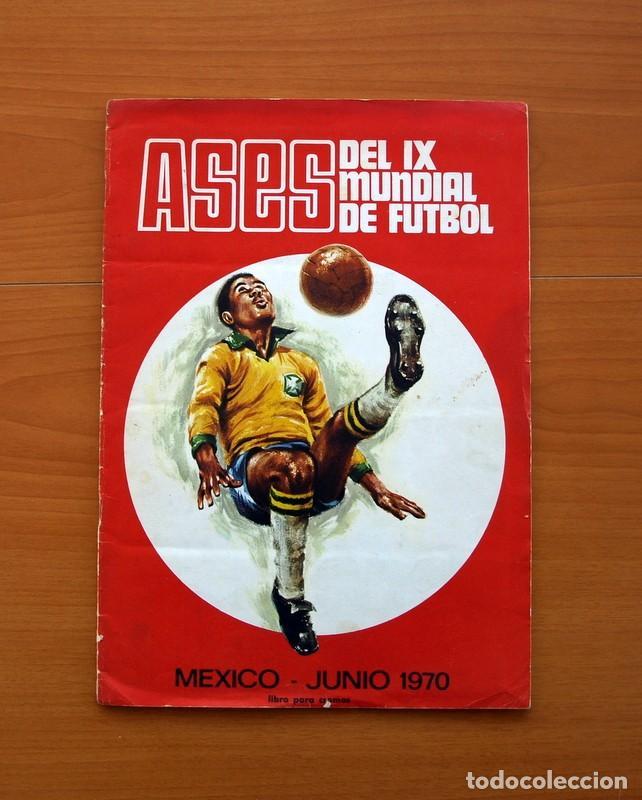 ÁLBUM CAMPEONATO MUNDIAL DE FÚTBOL 1970 - EDITORIAL FHER - COMPLETO (Coleccionismo Deportivo - Álbumes y Cromos de Deportes - Álbumes de Fútbol Completos)