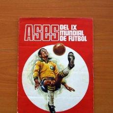 Álbum de fútbol completo: ÁLBUM CAMPEONATO MUNDIAL DE FÚTBOL 1970 - EDITORIAL FHER - COMPLETO. Lote 103050479