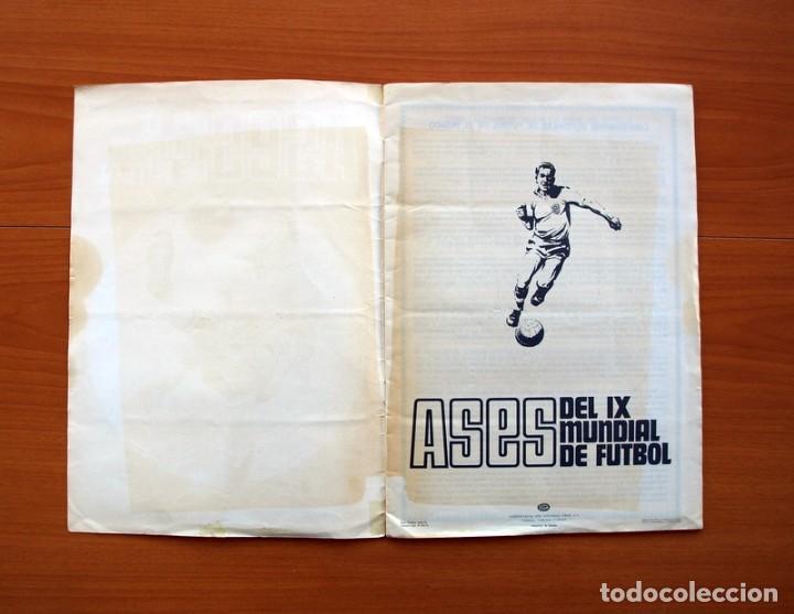 Álbum de fútbol completo: Álbum Campeonato Mundial de fútbol 1970 - Editorial Fher - Completo - Foto 2 - 103050479