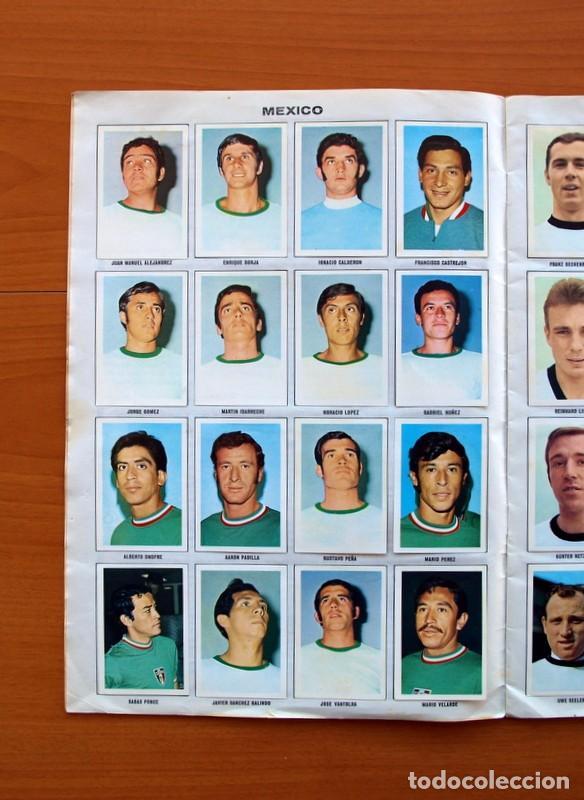 Álbum de fútbol completo: Álbum Campeonato Mundial de fútbol 1970 - Editorial Fher - Completo - Foto 3 - 103050479