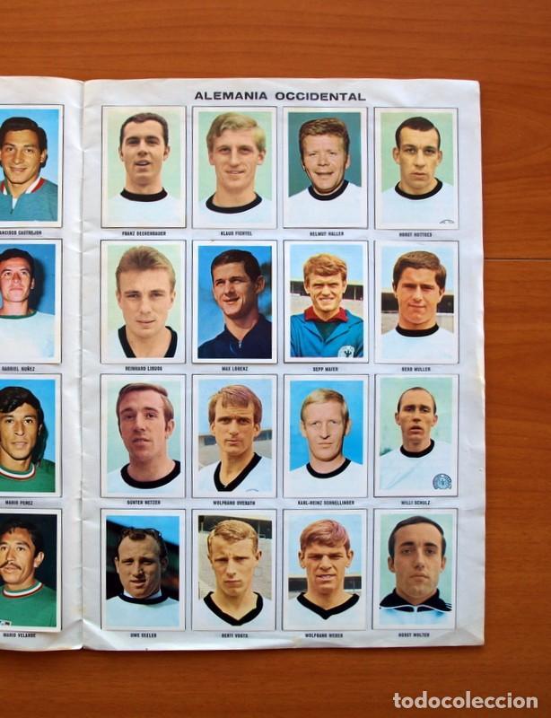 Álbum de fútbol completo: Álbum Campeonato Mundial de fútbol 1970 - Editorial Fher - Completo - Foto 4 - 103050479