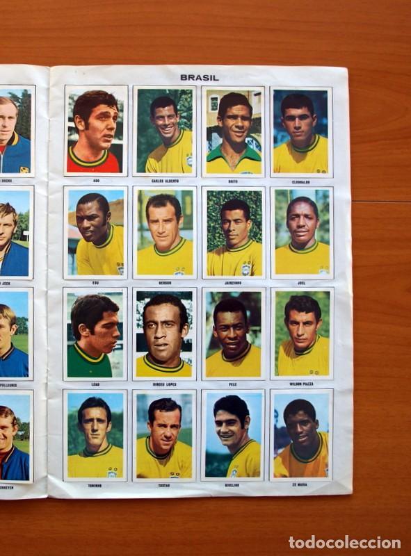 Álbum de fútbol completo: Álbum Campeonato Mundial de fútbol 1970 - Editorial Fher - Completo - Foto 6 - 103050479