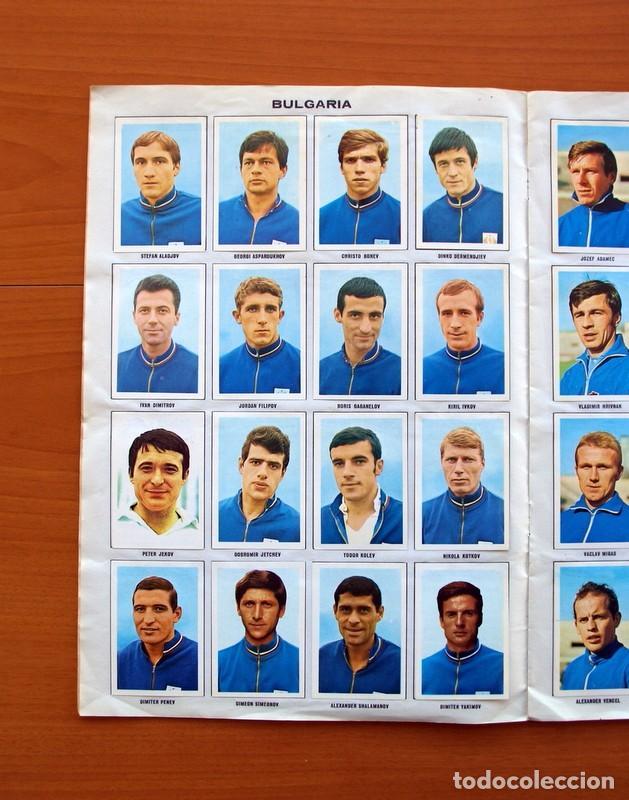 Álbum de fútbol completo: Álbum Campeonato Mundial de fútbol 1970 - Editorial Fher - Completo - Foto 7 - 103050479