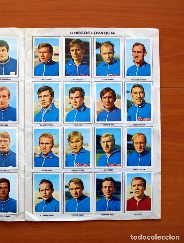 Álbum de fútbol completo: Álbum Campeonato Mundial de fútbol 1970 - Editorial Fher - Completo - Foto 8 - 103050479