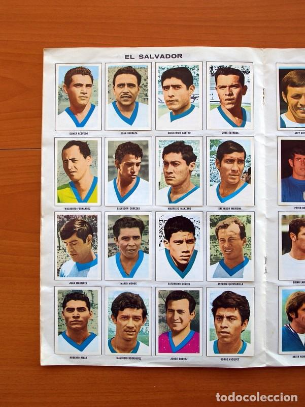 Álbum de fútbol completo: Álbum Campeonato Mundial de fútbol 1970 - Editorial Fher - Completo - Foto 9 - 103050479