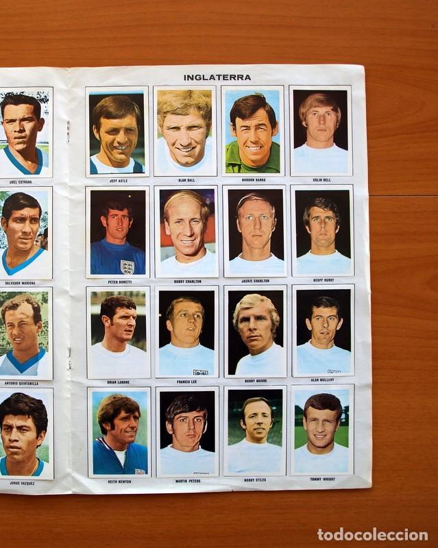 Álbum de fútbol completo: Álbum Campeonato Mundial de fútbol 1970 - Editorial Fher - Completo - Foto 10 - 103050479