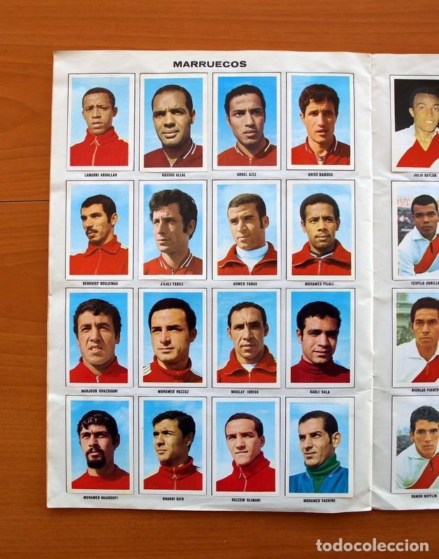 Álbum de fútbol completo: Álbum Campeonato Mundial de fútbol 1970 - Editorial Fher - Completo - Foto 13 - 103050479
