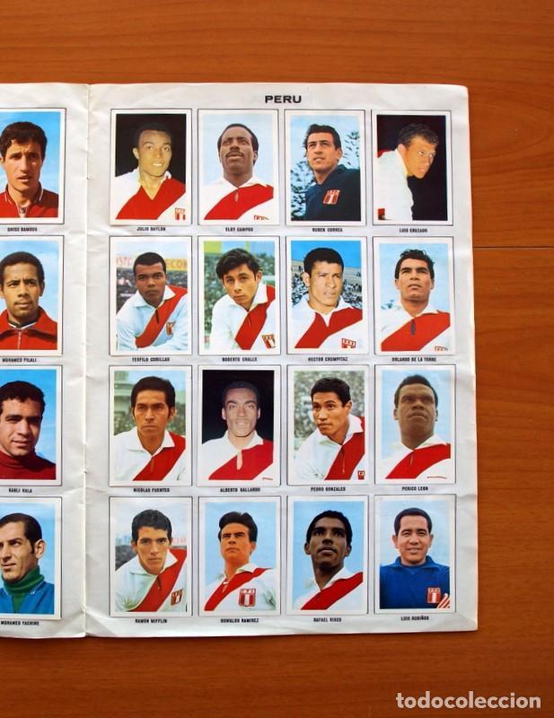 Álbum de fútbol completo: Álbum Campeonato Mundial de fútbol 1970 - Editorial Fher - Completo - Foto 14 - 103050479