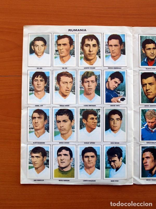Álbum de fútbol completo: Álbum Campeonato Mundial de fútbol 1970 - Editorial Fher - Completo - Foto 15 - 103050479
