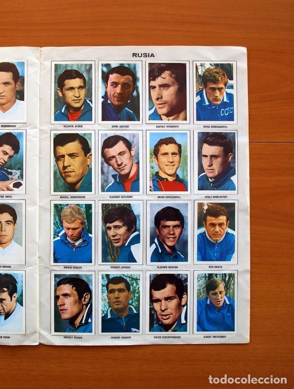 Álbum de fútbol completo: Álbum Campeonato Mundial de fútbol 1970 - Editorial Fher - Completo - Foto 16 - 103050479