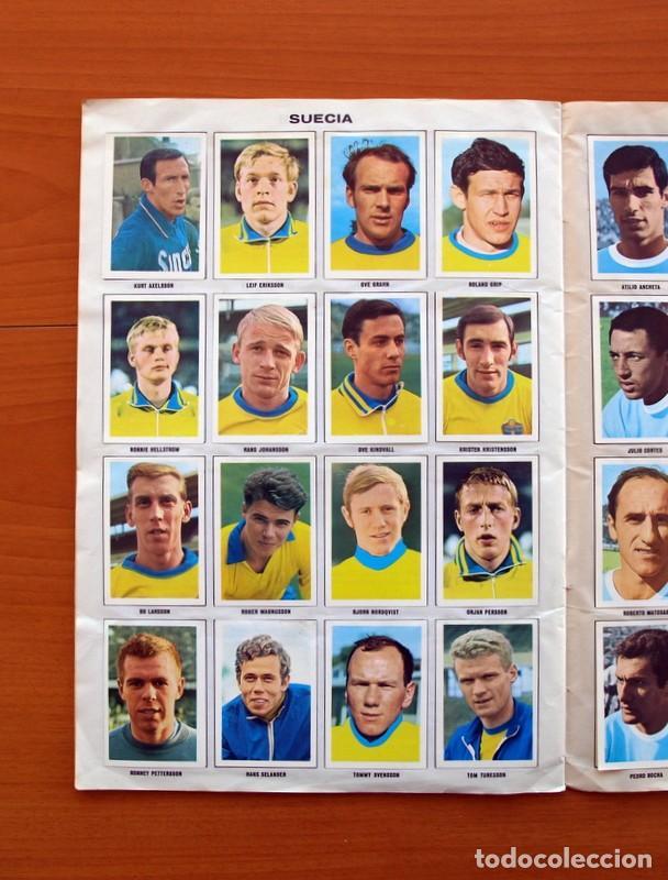 Álbum de fútbol completo: Álbum Campeonato Mundial de fútbol 1970 - Editorial Fher - Completo - Foto 17 - 103050479