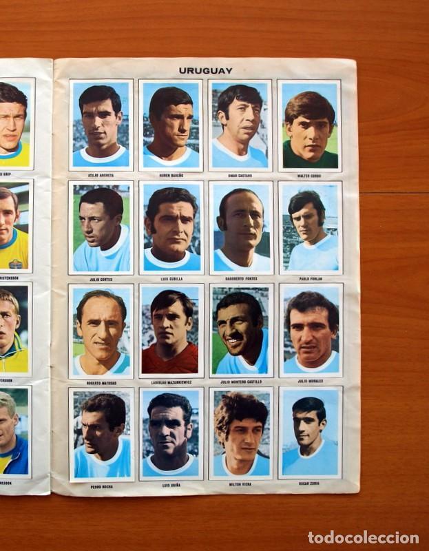 Álbum de fútbol completo: Álbum Campeonato Mundial de fútbol 1970 - Editorial Fher - Completo - Foto 18 - 103050479