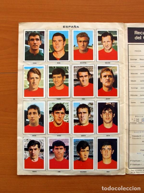Álbum de fútbol completo: Álbum Campeonato Mundial de fútbol 1970 - Editorial Fher - Completo - Foto 19 - 103050479