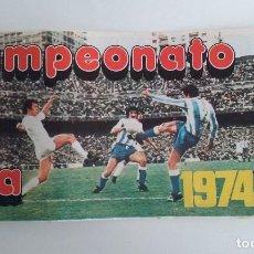 Álbum de fútbol completo: ÁLBUM DE CROMOS FUTBOL/CAMPEONATO DE LIGA 1974/75/PIPAS GRAELL/NUEVO¡¡¡¡¡¡¡¡. Lote 159429417
