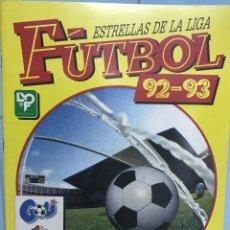 Álbum de fútbol completo: ÁLBUM FÚTBOL 92 - 93 (1992 - 1993) - ESTRELLAS DE LA LIGA - PANINI - COMPLETO Y PERFECTO. Lote 103520867
