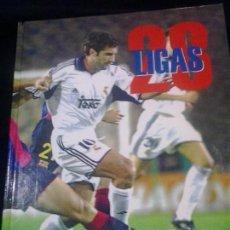 Álbum de fútbol completo: 28 LIGAS BLANCAS .COMPLETO. REAL MADRID. CON TODOS LOS CROMOS. ABC DEPORTE. Lote 103537167