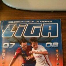 Álbum de fútbol completo: EDICIONES ESTE 2007 2008 07 08 - ALBUM COMPLETO CON 572 CROMOS (TODO LO EDITADO). Lote 103611031