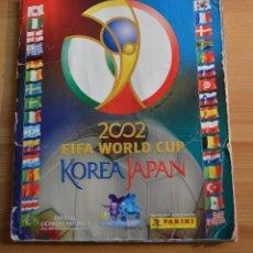Álbum de fútbol completo: ALBUM MUNDIAL FUTBOL COREA Y JAPON 2002. Lote 103624739