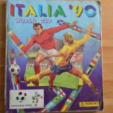 Álbum de fútbol completo: ALBUM MUNDIAL FUTBOL ITALIA 1990. Lote 106022910